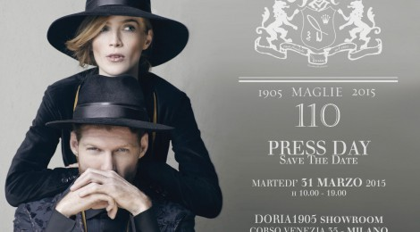 Press Day_Doria 1905, handmade passion. 31 marzo Show Room Corso Venezia 35, Milano
